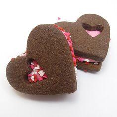 Sandwich Heart Cookies