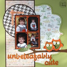 A Scraphappy Southernbelle: Unbeleafably Cute