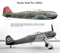 Focke Wulf 190V1