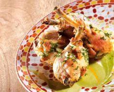 Pilons de poulet à l'ail, au citron et à la coriandre