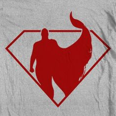 MixedTees.com Superman - Silhouette The Man of Steel with his cape in the wind. Iconic, awesome shirt for any Superman fan! This durable, high-quality, pre-shrunk 100% cotton super soft ringspun shirt is what to wear when you want to go comfortably casual.