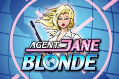 Agent Jane Blonde Slot by Microgaming - Play Online for Free Online Casino Slots, Casino Slot Games, Online Gambling, Casino Sites, James Bond Casino, Banana Party, Casino Cruise, International Games, Casino Movie