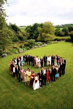 Wedding, family photo idea