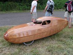 Wooden Velomobile MkII