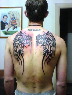 back body art 30 Splendid Back Tattoos For Guys