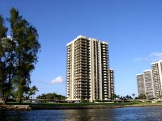 Old Port Cove condos for sale offer waterfront views of the Intracoastal and Singer Island