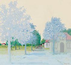 René Magritte (1898-1967) Le Traité du paysage (1939) gouache 28 x 30.5 cm