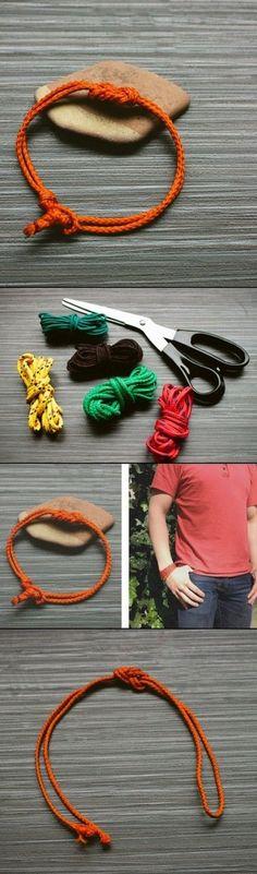DIY Knot Bracelet ideas
