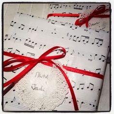 Xmas wrapping (y tan flamenca!)