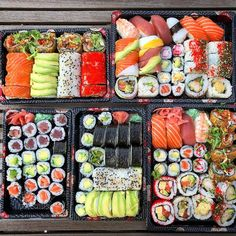 Sushi Catering, Enjoy Your Meal, South Korean Food, Healthy Snacks, Healthy Recipes, Best Party Food, Bento Recipes, Best Food Ever, Picnic Foods