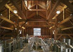 Nickel & Nickel Winery - Fermentation Room Napa Valley, California  nickelandnickel.com