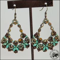 Green Turquoise BE Earrings