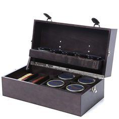 Tricker's Valet Box (Dark Brown)