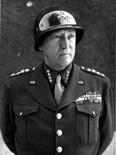 Patton - mediocre general who did not understand armored warfare.