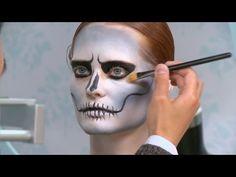Skull Mask Makeup Tutorial - Part 1