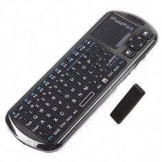 5775f53cccc iPazzPort Mini Wireless Keyboard with IR Remote & Voice Speaker Microphone Sales  Online - Tomtop