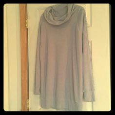 Victoria's Secret Lavender, Lace, Long Sweater! Victoria's Secret Lavender Sweater for sale! This sweater is long so that it can be worn with leggings. Features a soft lavender color with a cowl neck. The sleeves features beautiful floral lace from shoulder to hand. Very beautiful! Only worn once! Bundle this sweater for great savings today! Victoria's Secret Sweaters Cowl & Turtlenecks