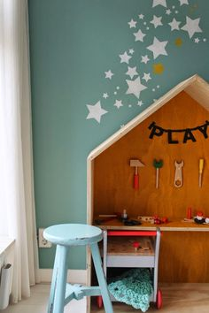 Donkey and the Carrot: Inspiration: Kids' rooms (so damn cute!) -- Παιδικά δωμάτια #παραμυθένια