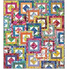 Free Quilt Pattern | All Stacked up | FreeSpirit Fabrics | Kaffe Fassett