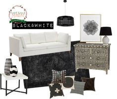 Mood Board Monday | Black and White | Life as we know it blog #moodboardmonday
