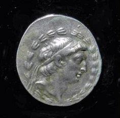 Seleucid, Demetrius I AR Tetradrachm Coin - History of Macedonia - the ancient kingdom of Greece  #macedonia #macedonian #seleucid #kingdoms of #Greece #hellenistic #hellenism #Greek