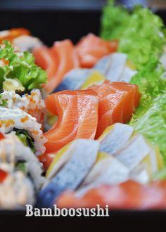 So Delicious Sashimi by @BamboosushiVN