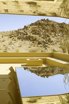 Stay. Just footsteps from Joshua Tree National Park are Acido Dorado and Rosa Muerta, two vacation rental homes built by architect Robert Stone. 78% of the gold-dipped Acido Dorado can be opened entirely to the outdoors, bringing the desert indoors. With sliding doors and mirrored walls and ceilings throughout, it's appearance changes as day progresses to evening.