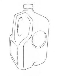 he mark consists of a three-dimensional configuration in the nature of product packaging of a one gallon plastic milk jug. The jug features a rectangular base, four vertical panels, a handle, and a neck. The rear panel and side panels have a top tapered portion forming a partial pyramid and the neck is positioned at the apex thereof. The front panel has a recessed top portion and the side panels have cutouts around the recessed top portion of the front panel. The connecting edges of the…
