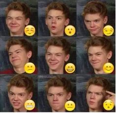 the faces that Thomas can make with that adorable face of his is just wonderful. THEY'RE ALL SO CUTE!!!!!!