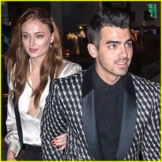 Joe Jonas & Sophie Turner Celebrar Su Compromiso en nueva york!