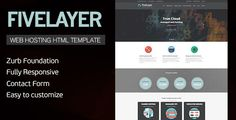 Deals FiveLayer - Web Hosting, Responsive HTML Templatewe are given they also recommend where is the best to buy