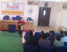 "Ms. Rikita Swaroop, a Corporate Soft Skills Trainer, trains employees in organizations like Infosys, Tech Mahindra and Various MNC's , took sessions for the students of The ICFAI University, Jharkhand  a Constituent of the ICFAI Group on ""How to face Job Interviews""."