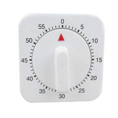 Mechanical 60 minutes count down timer movement electronic timers square white small kitchen alarm clock reminder tools clocks