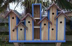 mussen-hotel voor in de tuin