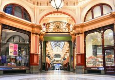 'The Block'. Block Arcade, Melbourne. © G.C.Campbell.
