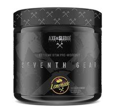 Axe & Sledge Seventh Gear - Raspberry Lemonade Beta Alanine, Muscular Endurance, Pre Workout Supplement, Raspberry Lemonade, Axe, Gears, Caffeine, Room Ideas, Strength