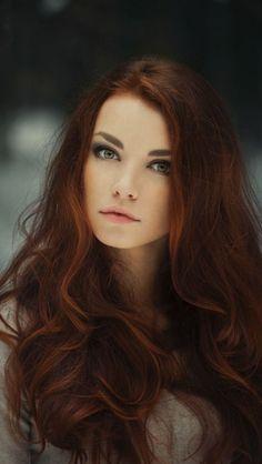 stunning red hair