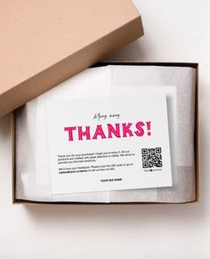 Printable Thank You Cards Business Thank You Cards Thank You For Your Purchase Thank You Template Package Insert Many Many Thanks is part of Packaging ideas business, Business thank you card - Etsy Business Cards, Business Thank You Cards, Ecommerce Packaging, Brand Packaging, Packaging Ideas, Printable Thank You Cards, Thank You Card Template, Clothing Packaging, Jewelry Packaging