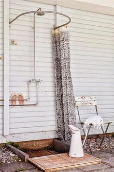 44 Ideas Diy Outdoor Shower Curtain Rods For 2019