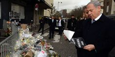 Netanyahu, Israel Pay Respects to Victims of Paris Terror | Breaking Israel News  1/13/15