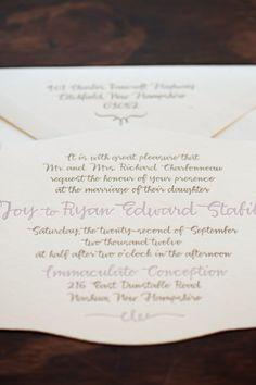 Photography: Mark Davidson - mark-davidson.com  Read More: http://www.stylemepretty.com/new-england-weddings/2014/01/22/romantic-private-estate-wedding/