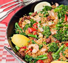 Winter warmer: Spanish baked paella recipe