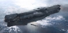 UNSC INFINITY, John Liberto on ArtStation at http://www.artstation.com/artwork/unsc-infinity