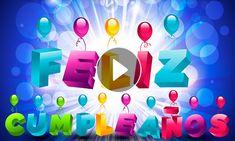 😊😉🎇🎉🎈🎊Feliz Cumpleaños y Bendiciones para ti😊😉🎇🎉🎈🎊 | Tarjetitas Happy Birthday Video, Happy Birthday Balloons, Birthday Wishes And Images, Happy Birthday Messages, Grandma Quotes, Love Signs, Love Images, Valentino Rossi, Valentino Rockstud