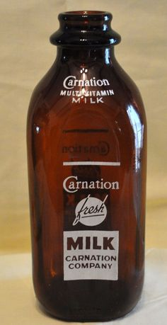 Hey this is neat. Ever seen a brown glass milk bottle? Cool. See our refillable glass milk bottles at www.Stanpacnet.com
