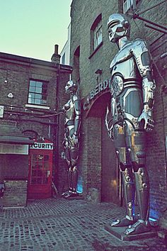 Cyberdog, Camden - WHAT ARE THESE GUYS? I would love to go explore here &…