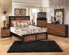 Aimwell 5pc Queen Bedroom Set