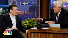 Texas Senator Ted Cruz made his first ever appearance on The Tonight Show with Jay Leno last night talking about his position on issues such as same-sex-marriage and The Affordable Care Act, aka Ob...