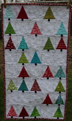 Little forest quilt
