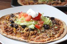 Recipe: Skinny Taco Flatbread